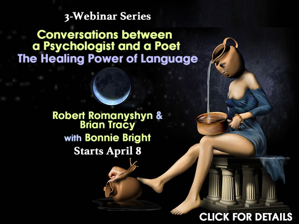 Webinar Series Psychologist & Poet-Romanyshyn and Tracy
